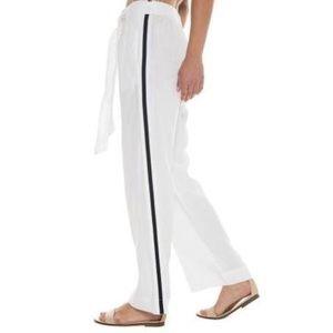 Bella Dahl Sport Stripe wise leg pants
